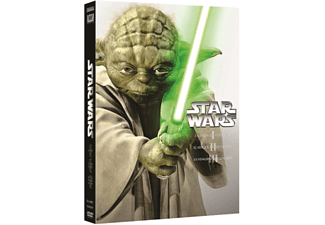Star Wars - Episodios I - II - III - Dvd