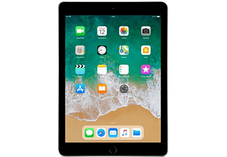 "Apple iPad (2018), 9.7"", 128 GB, WiFi, 4G, Gris espacial"