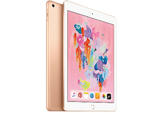 "Apple iPad (2018), 9.7"", 128 GB, WiFi, Oro 