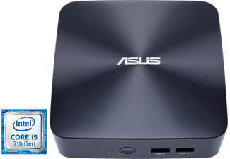 Mini PC - Asus UN65U-BM009M, Intel® Core i5-7200U, NO RAM, NO HDD, NO TIENE SISTEMA OPERATIVO
