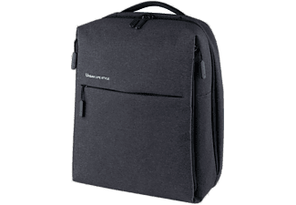 Mochila - Xiaomi Mi City Backpack, Para portátil, 4 compartimentos, Espuma EPE, Dark Grey