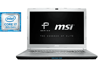 "Portátil gaming - MSI PE72 8RC-006XES, 17.3"" Full HD, Freedos, Intel® Core i7-8750H, 8 GB RAM,"