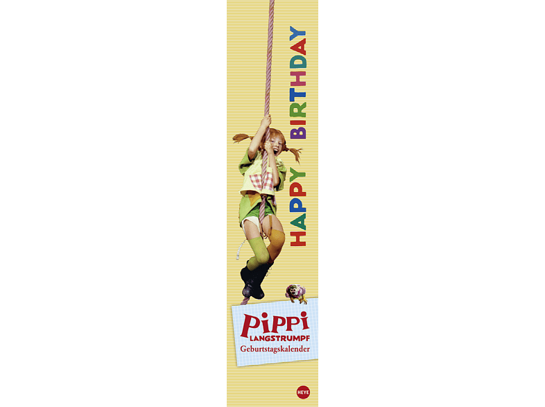 Pippi Langstrumpf GebKal long