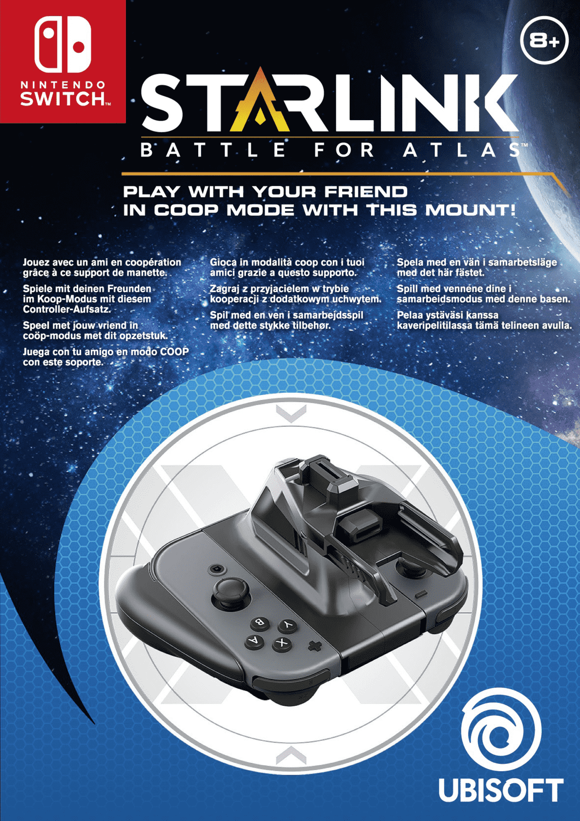 UBISOFT  Starlink: Battle for Atlas: Switch-Controller Mount Pack Nintendo Switch Controller Adapter | 03307216035930