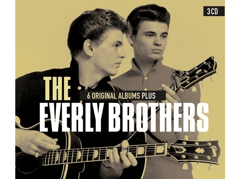 The Everly Brothers - 6 Original Albums Plus [CD]
