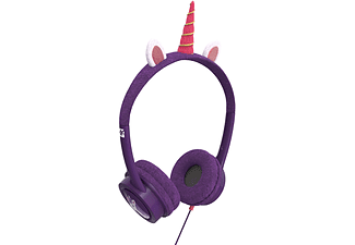 IFROGZ Little Rockerz - Cuffie per bambini (On-ear, Porpora/rosa)