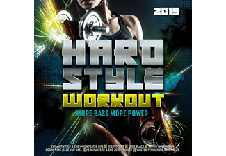 VARIOUS - Hardstyle Workout 2019-More Bass,More Power - (CD)