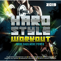 VARIOUS - Hardstyle Workout 2019-More Bass,More Power [CD]