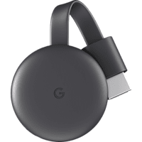 GOOGLE Chromecast Streaming Player, 3. Generation Streaming Player, Karbon