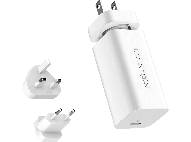 INNERGIE  Powergear 60W Universal Adapter – USB-C Laptop | 04710901739935