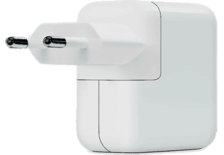 Adaptador de corriente - Apple USB-C, 30 W, Compatible con Macbook, Iphone y Ipad, Blanco