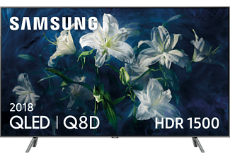 "TV QLED 65"" - Samsung QE65Q8DNATXXC, 4K UHD, Procesador Quad-Core, Direct Full Array,"