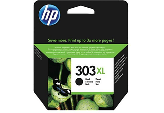 Cartucho de Tinta - HP 303XL High Yield Black Original, 600 Páginas, Negro