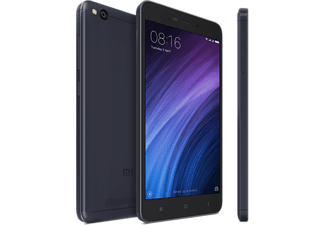 "Móvil - Xiaomi Redmi 4A Global, 5"", HD, Red 4G, 2 GB RAM, 16 GB, 13 MP + 5 MP, Gris oscuro"