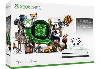 MICROSOFT XBOX ONE S 1TB BUNDEL GAME PASS
