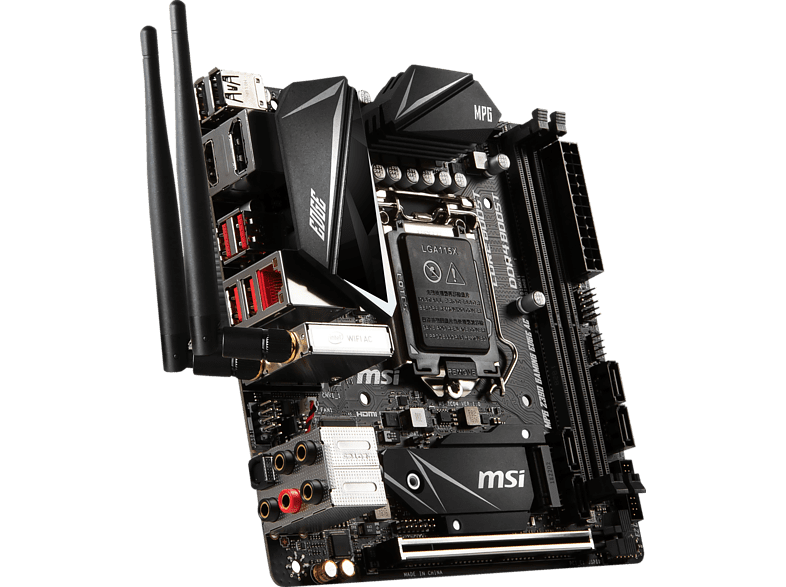 MSI MPG Z390I Gaming Edge AC Mainboard