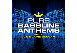VARIOUS - PURE BASSLINE ANTHEMS-MIXED BY DJ Q& JAMIE DUGGAN - (CD)