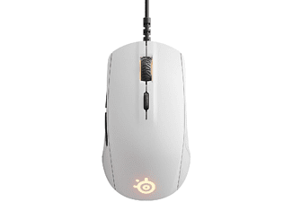 Ratón gaming - Steelseries Rival 110, USB, Óptico, 7200 DPI, Blanco