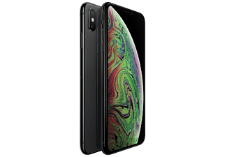 "Móvil - Apple iPhone Xs Max, 64 GB, 6.5"" OLED Super Retina HD, A12 Bionic, 12+12 MP, Gris espacial"