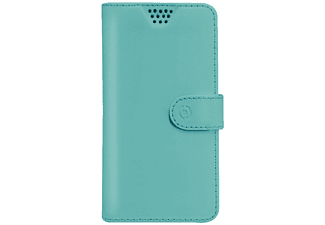 "Funda libro universal para móvil - Celly WALLYUNIMTF, de 3,5"" a 4"", verde"