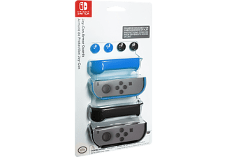 Pack accesorios - PDP Grips Armor + Stick, para Nintendo Switch, Azul, amarillo y rojo