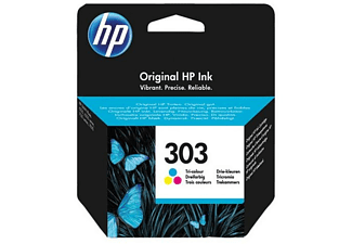 HP 303 Tri-color Original 165páginas Cian, Amarillo cartucho de tinta