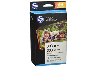 Cartucho de tinta - HP 303 Photo Value Pack, CMYK