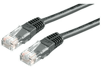 Cable de red - Nilox 5m Cat5e U/UTP (UTP) Negro