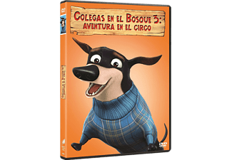 Colegas en el bosque 3, Ed. Big Face - DVD