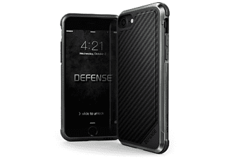 Funda - X-Doria Defense XDDL0001, Para iPhone 8, Aluminio, Negro