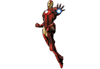 Vinilo pared - Roommate Deco Iron Man, 9 piezas, 130 cm