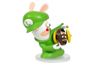 Figura - Mario + Rabbid Kingdom Battle, Rabbid Luigi, 8 cm