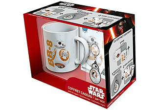 Kit taza+ llavero + Stickers - Star Wars BB8