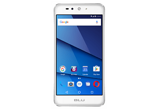 "Móvil - Blu GRAND XL LTE, plateado, pantalla 5.5"" HD, Dual SIM, 4G, Quad Core, 16GB, cámara 13 MP"