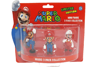 Figuras - Super Mario, Pack 3 Mini Figuras
