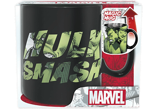 Taza - Marvel, Hulk Smash, Termosensible