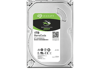Disco duro 1 TB - Seagate BarraCuda, Interno, 3.5'', SATA a 6 GB/s, Multi-Tier Caching