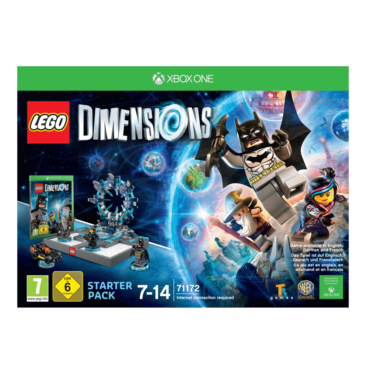 LEGO DIMENSIONS Dimensions Starter Pack XBOXONE Smart Toy   LEGO Dimensions