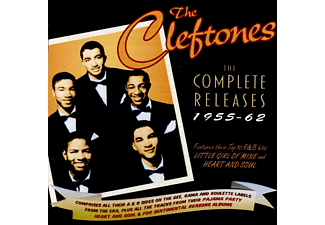 The Cleftones - The Cleftones Cpmplete 1955-62 - (CD)