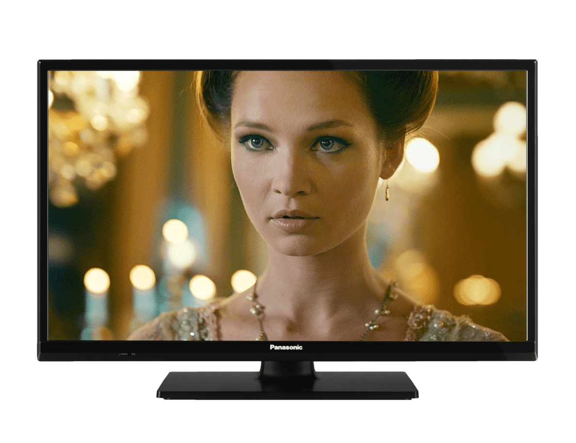 PANASONIC TX-24FW334, 60 cm (24 Zoll), HD, LED TV, 200 Hz BMR, DVB-T2 HD, DVB-C, DVB-S, DVB-S2