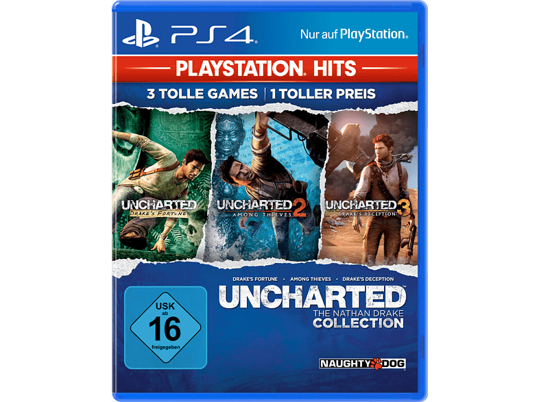 PS Hits: Uncharted - The Nathan Drake Collection [PlayStation 4]