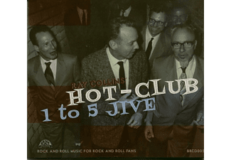Ray Collins' Hot-club - 1 To 5 Jive (CD) - (CD)