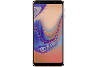 Móvil - Samsung Galaxy A7, 6'' FHD+ Super Amoled, Octa Core, 4 GB RAM, 64 GB, 24+8+5 MP, Dorado