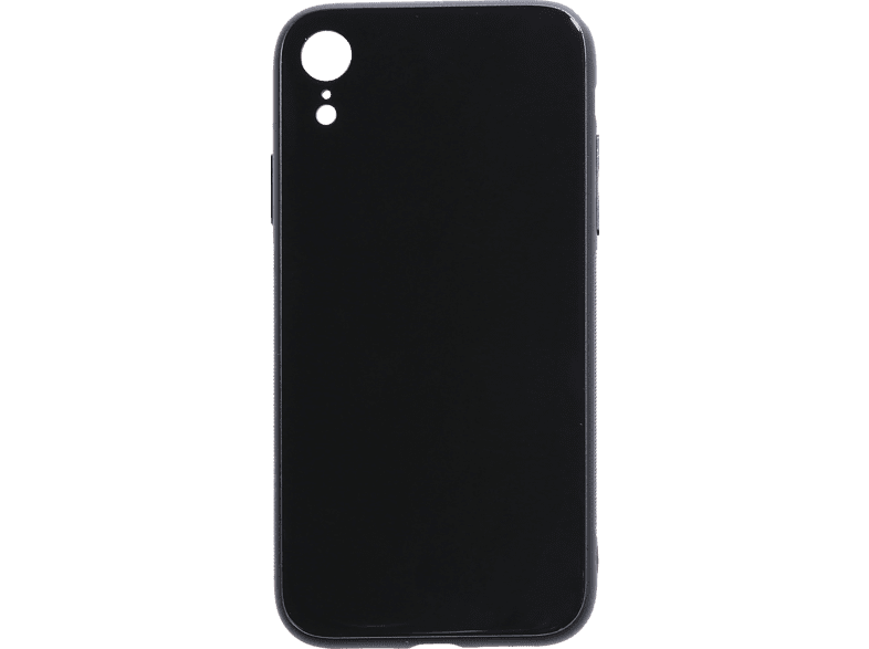 V-DESIGN  VGL 028 Backcover Apple iPhone XR Glas Schwarz | 04056212037217