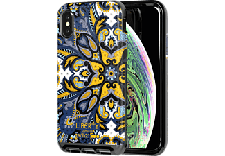 TECH21 Evo Luxe Marham Liberty Handyhülle, Apple iPhone XS, Blau