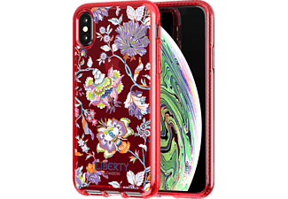 TECH21 Pure Clear Christ Liberty Handyhülle, Apple iPhone XS Max, Rot