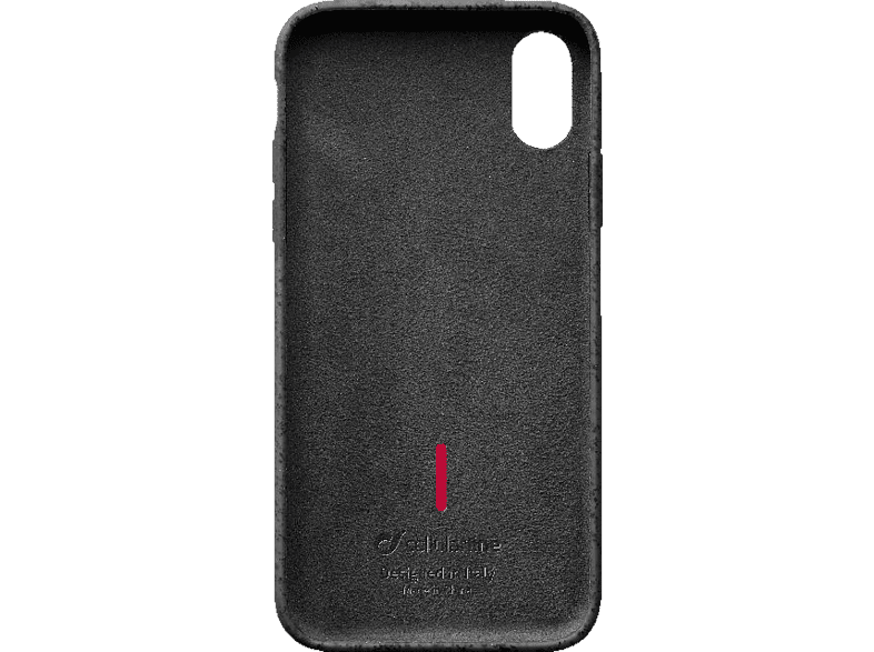 CELLULAR LINE Mineral Backcover Apple XS Max Silikon Grau