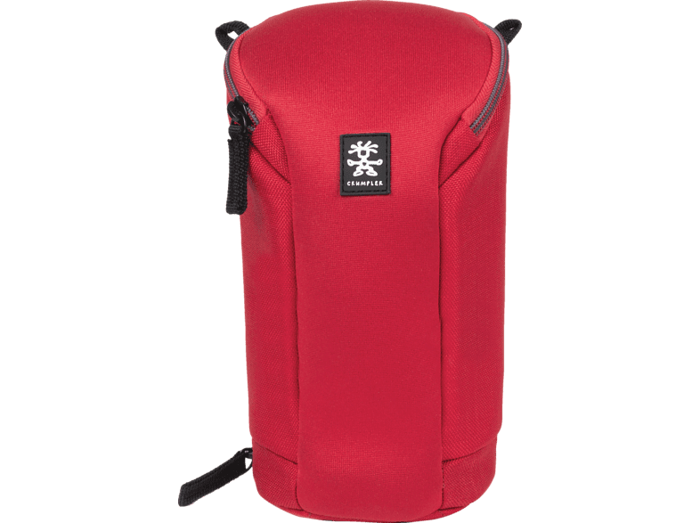 CRUMPLER BLLC-XL-004 BASE LAYER LENS CASE XL CLEAR RED Objektivtasche , Rot