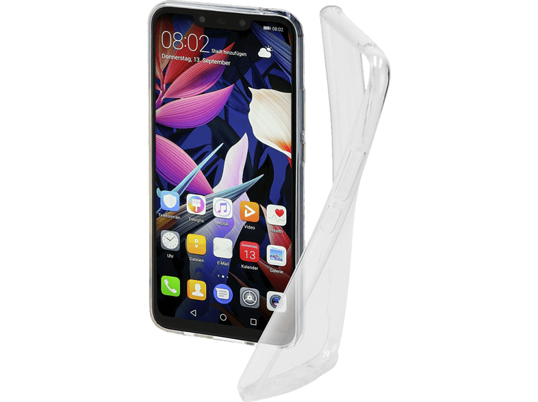 HAMA  Crystal Clear Huawei Huawei Mate 20 lite Thermoplastisches Polyurethan (TPU) Transparent | 04047443399120