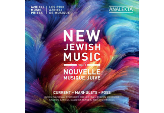 Czech National Symphony Orchestra - New Jewish Music,Vol.1 - (CD)